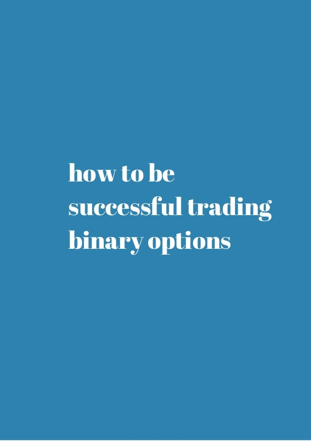 Effective binary options trading strategy