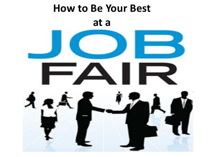 How To Be Your Best at a Job Fair
