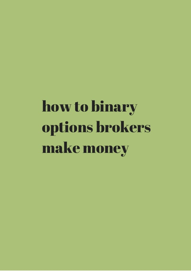 making money with forex options