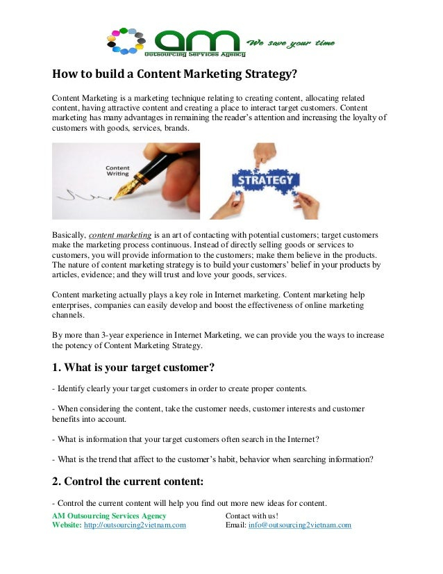 How to build a content marketing strategy?
