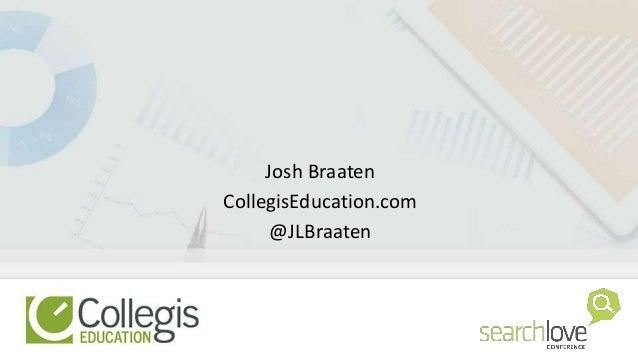Josh Braaten CollegisEducation.com @JLBraaten