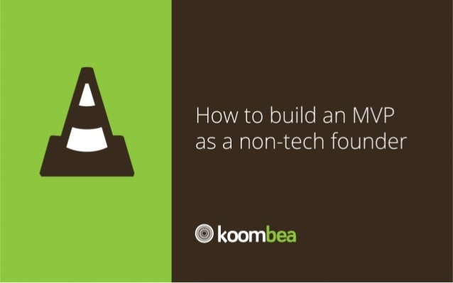 How to build a MVP app as a non-tech founder