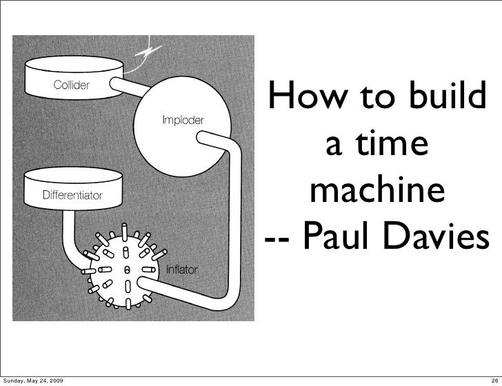 how to build a real time machine
