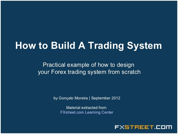 Trading system technology