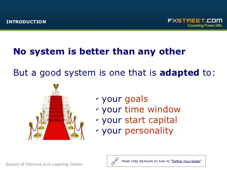 How to trading system