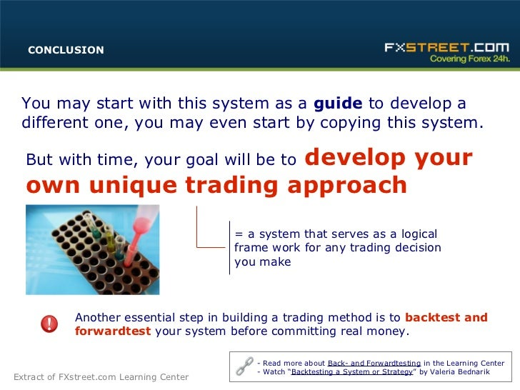 Building your e mini trading strategy