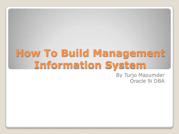 build management: