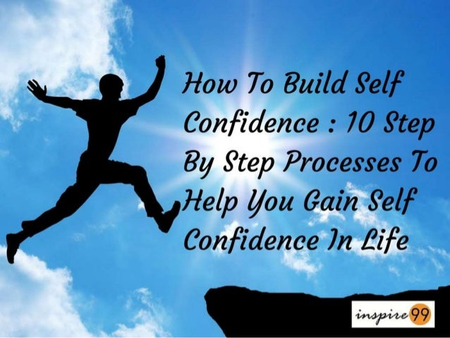 how to build up self confidence pdf