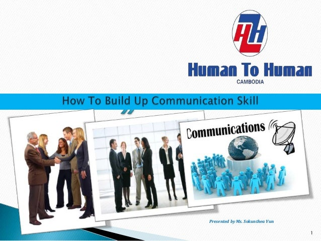 How to build up communication skill