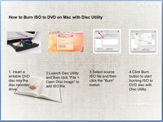 how to open burn disc image file