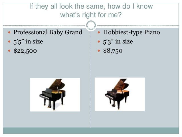 How to choose a grand piano for What size is a baby grand piano