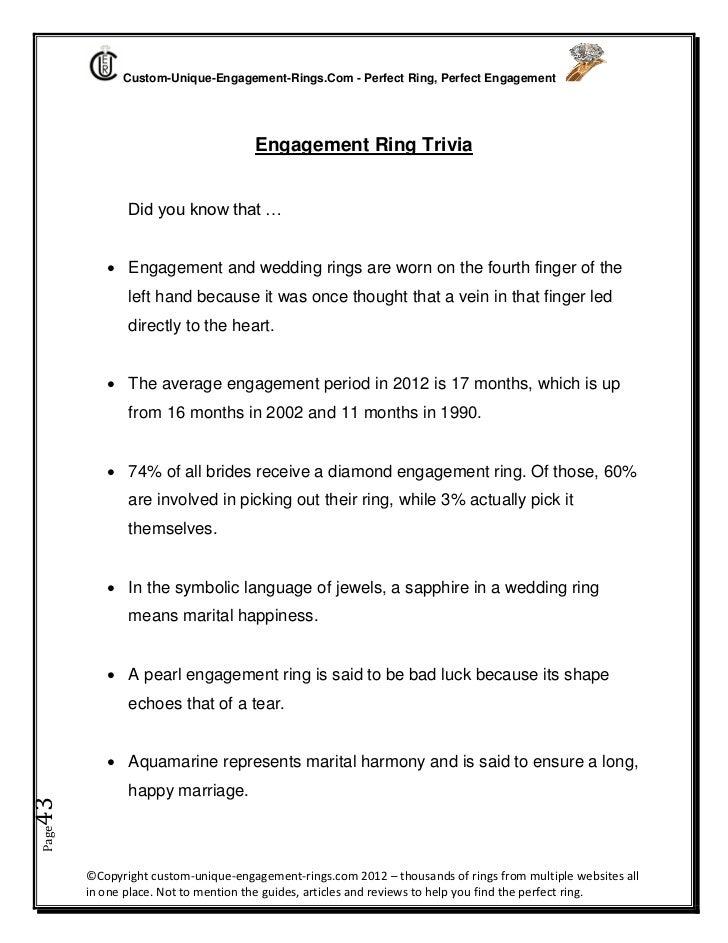 Modern wedding rings newlyweds Do wedding and engagement rings go