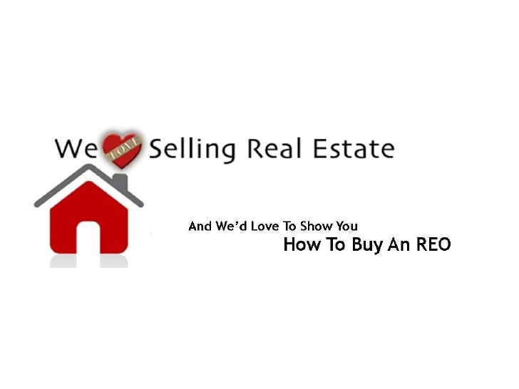 How To Buy An Reo