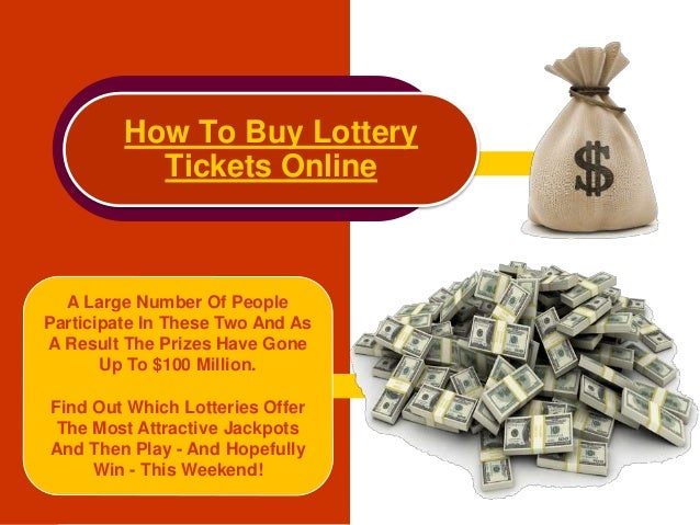 Online Lotto – Buy Tickets at Online Lotto Sites