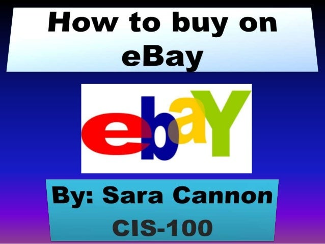 How to buy on e bay