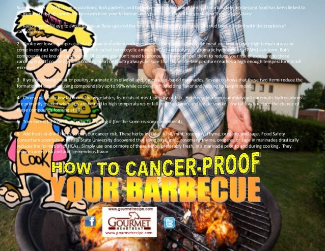 How to cancer proof your barbecue