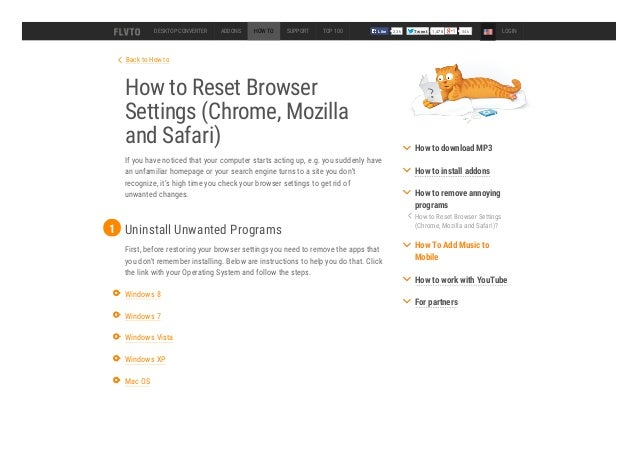 Back to how tohow to reset browsersettings chrome mozillaand safari
