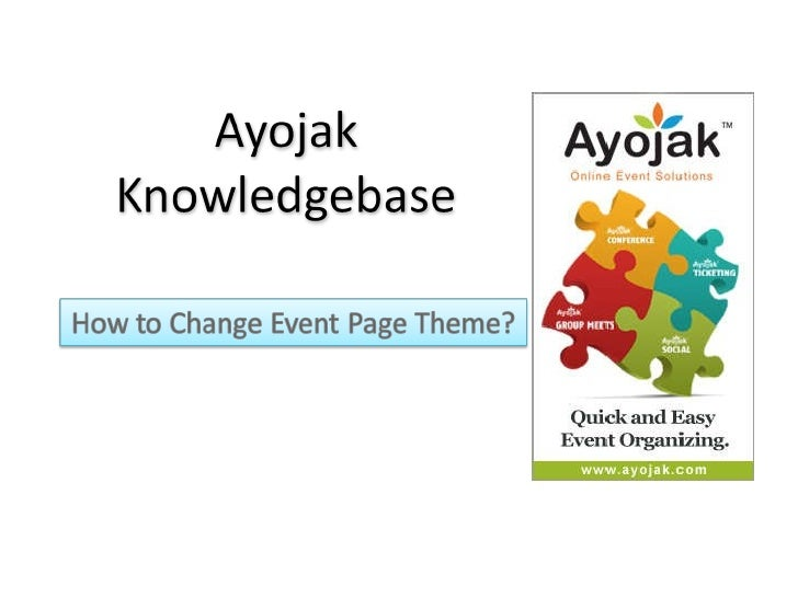 How to change_event_page_theme