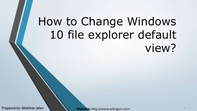 how to change the order of files on windows