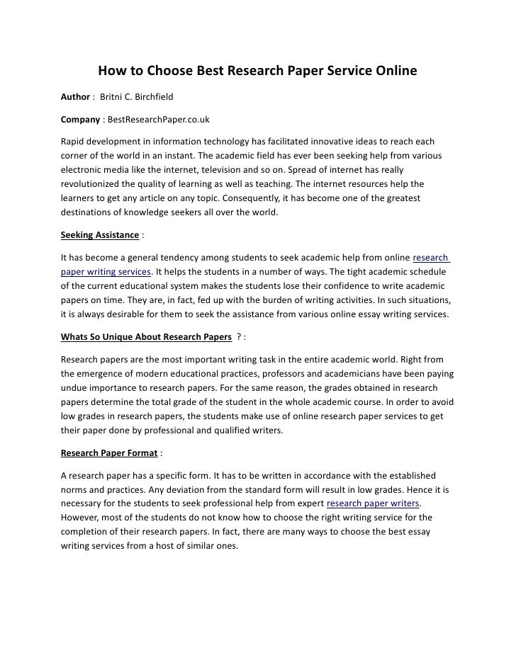 research paper 4 essay The basic outline of a paper the following outline shows a basic format for most academic papers if a research paper, use strong evidence from sources.