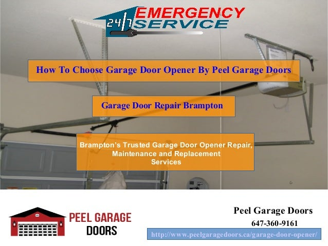 how to choose garage door opener by peel garage doors