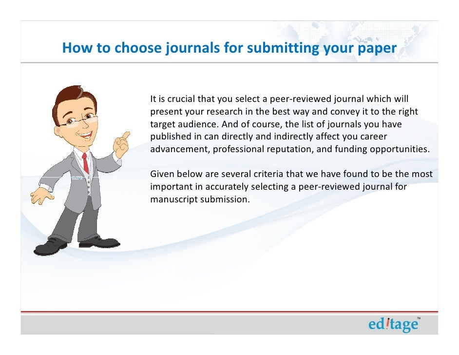 covering letter for journal submission