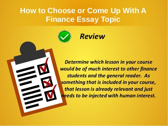 essay financial need Five tips for writing winning essays wondering what goes on inside the heads of scholarship reviewers as they read your essay you need to convince the readers.