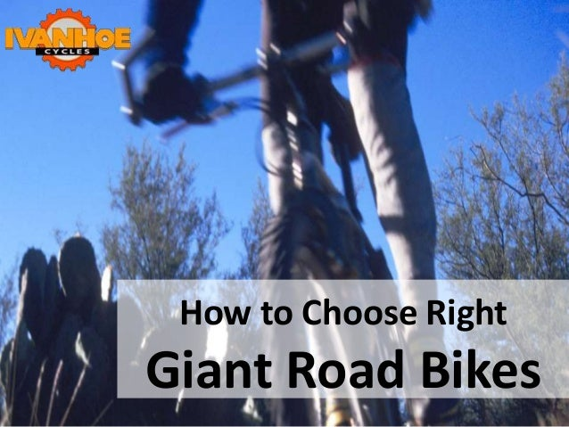 How to Choose Right Giant Road Bikes
