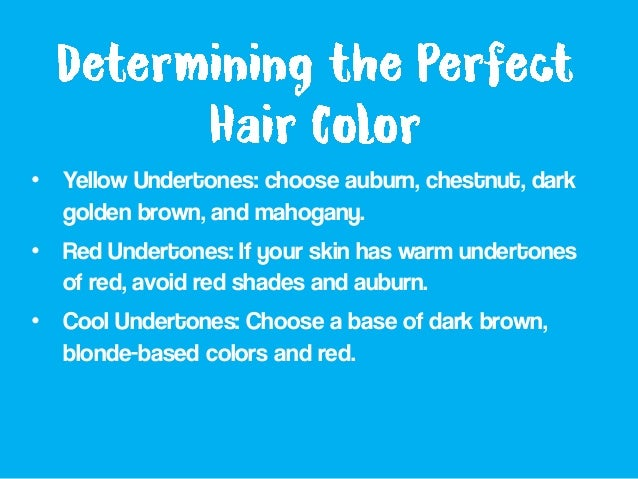 how to choose the best hair colour for me