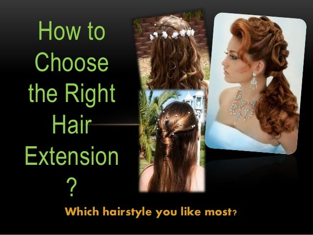 how to choose the right hair