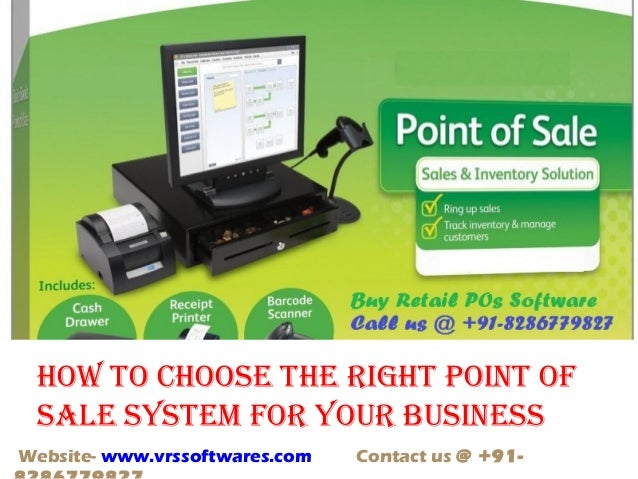 How to Choose a Point of Sale (POS) System for Your Small ...