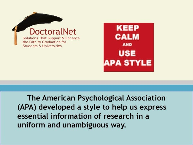 How To Cite An Essay In Apa
