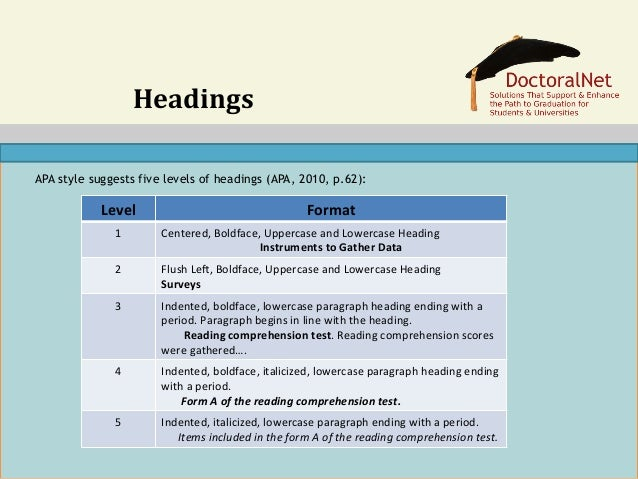 doctoral writing style