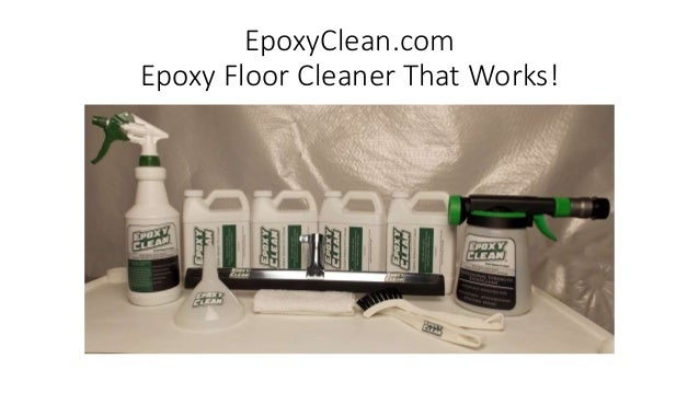 How to make your epoxy floors cleaner with the best epoxy for Best garage floor cleaner
