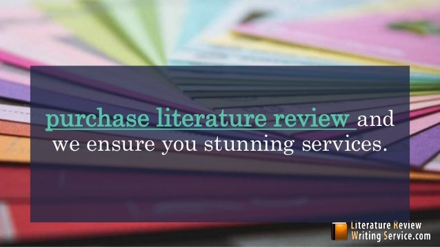 Literature review resources