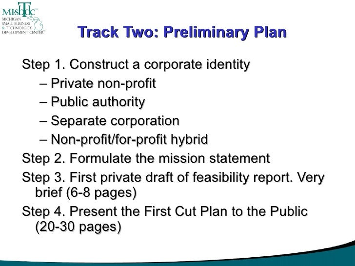 How to conduct a business plan