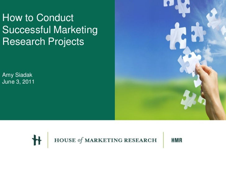 How to conduct a research project