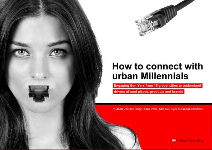 How to connect with urban millennials: results from a global research community