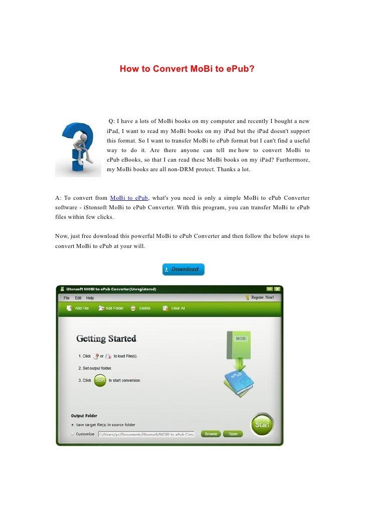 Epub free converter to pdf