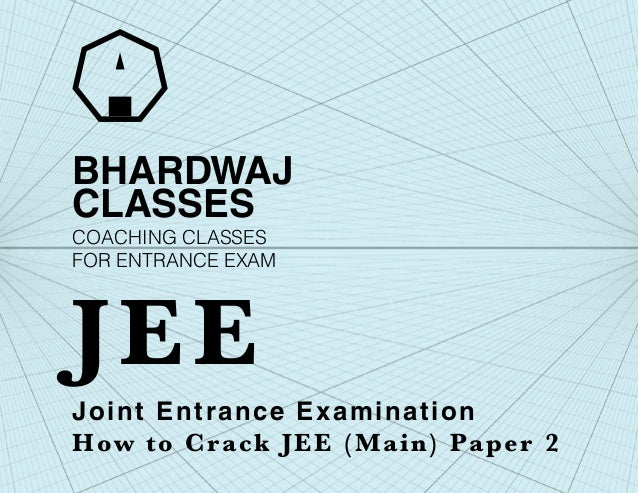 How to crack jee main paper 2 architecture
