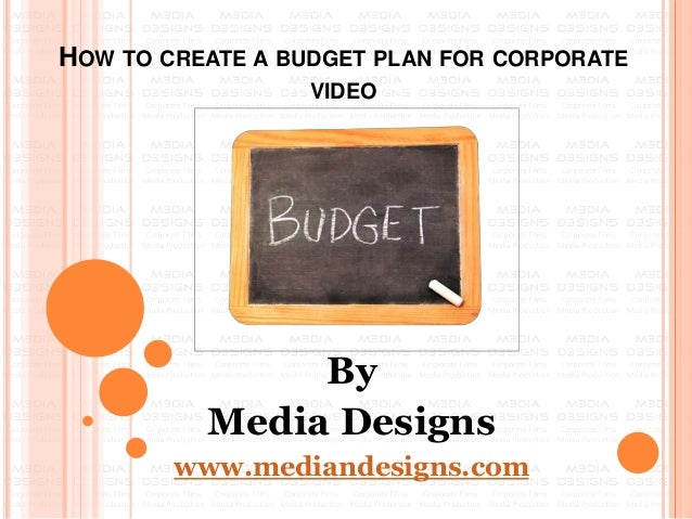 how to create a corporate budget