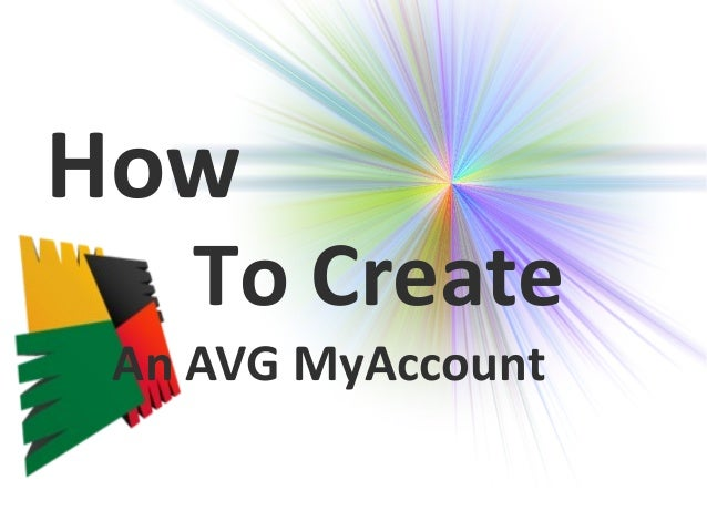 how to create an avg my account 844 892 4680. Black Bedroom Furniture Sets. Home Design Ideas