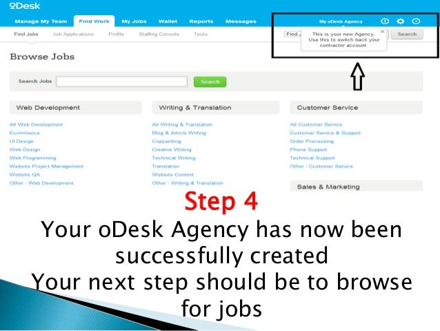 how to create odesk account