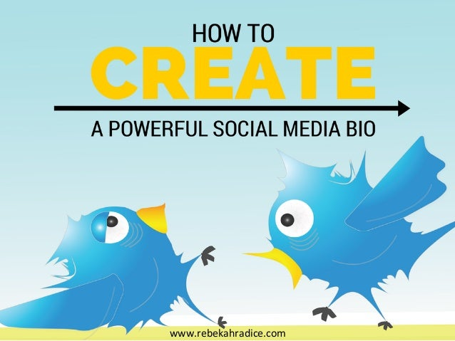How to Create a Powerful Social Media Bio