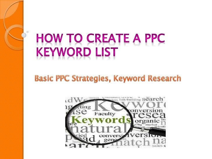 You've heard of the three little PPC pigs right? The first PPCpig started building his account without conducting anykeywo...