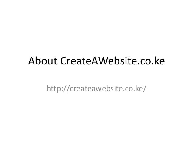 Learn How To Create A Website - Tutorials