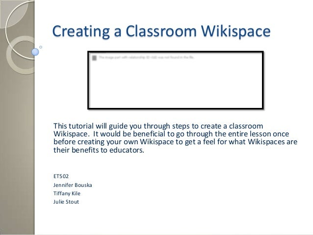 How to create_a_wikispace