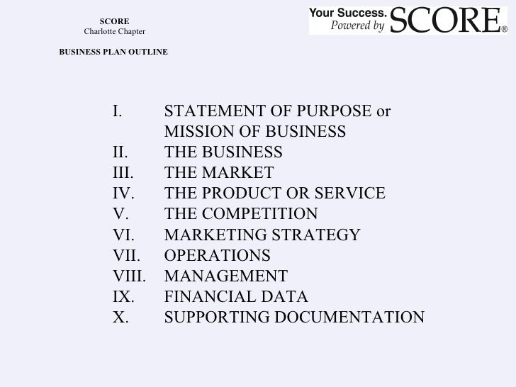 How to set up a business plan