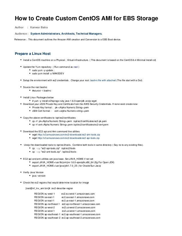 Howto createcustomcentosam iforebsstorage-200913-1043-13