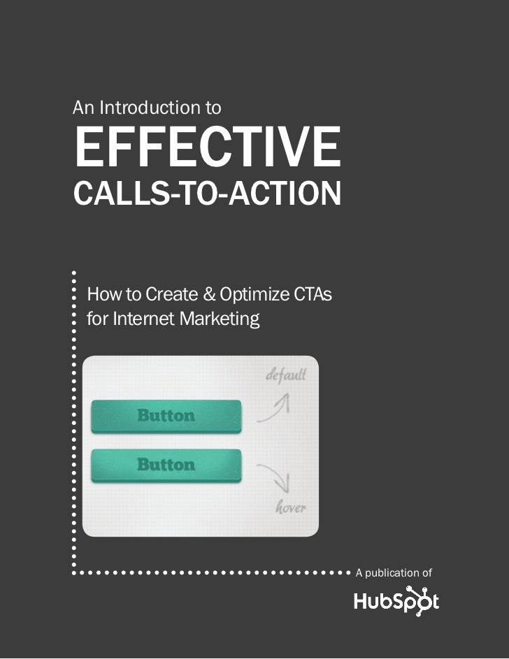 How to create effective calls to-action